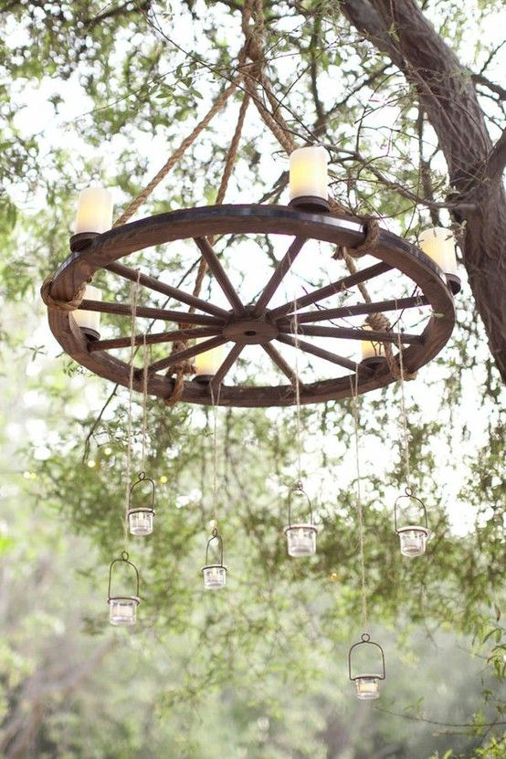 Wedding Decor/ kaylee this would look cool in the barn