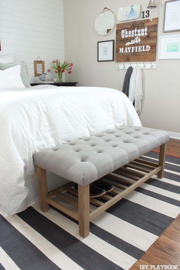 best 25+ tufted bench ideas on pinterest | neutral door mats