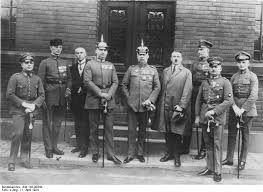 Munich Putsch was a fail group attempt by Hitler the leader of the Nazi party. Hitler and the group tried to seize Munich against the Germany Republic government. Hitler was arrested for treason and found guilty and sentenced to 5 years in prison. This gave Hitler recognition to the nation, in prison he wrote a book of his plans for Germany which was released to the public and on his release he had supports lining up to serve Hitler.