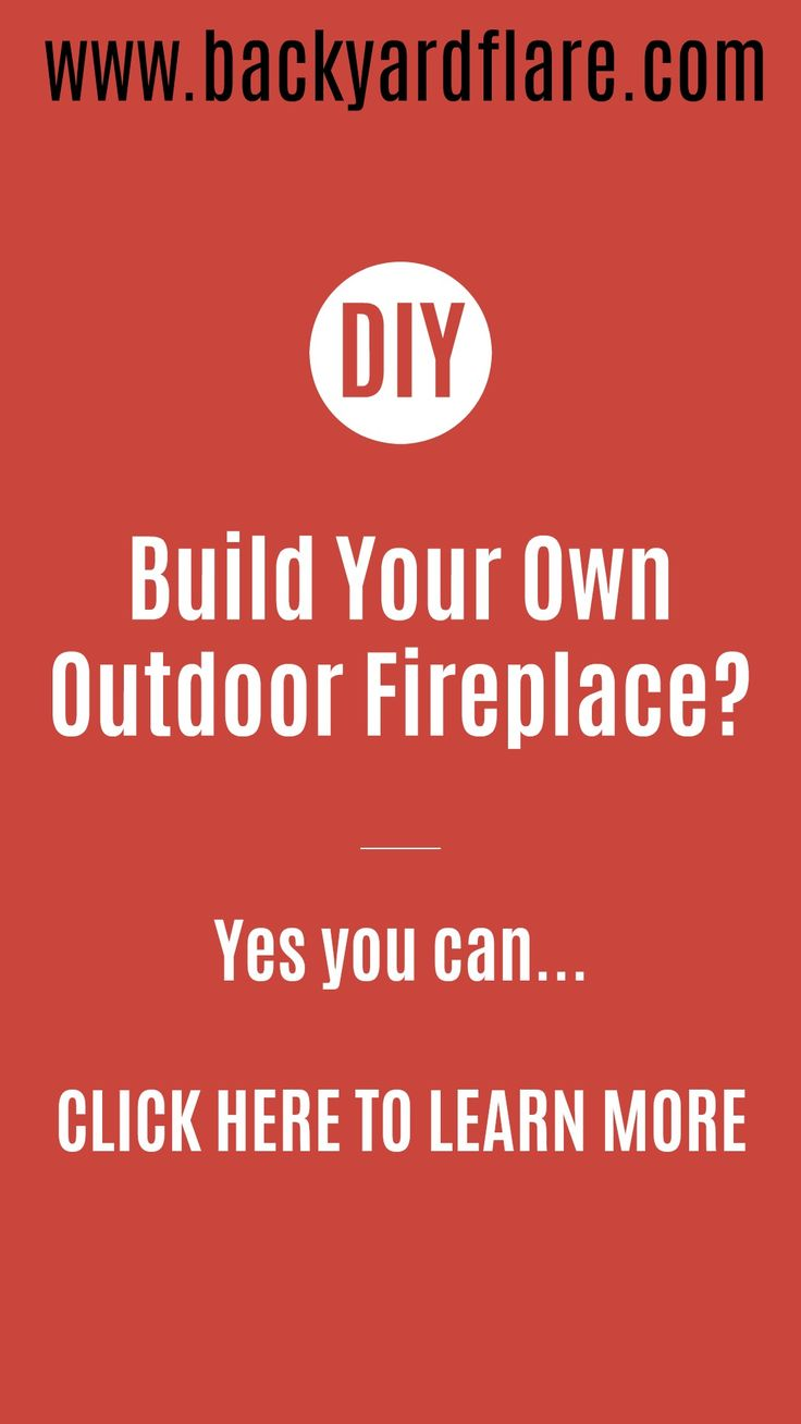 Build Your Own Fireplace? Yes You Can. #diy #outdoorlife #outdoors #outdoorliving #outdoorfireplace #masonry #landscape #fireplace #kitchen #outdoorkitchen #outdoorcooking #grilling #backyardideas #backyardflare #pizzaoven #pizza #fireplace