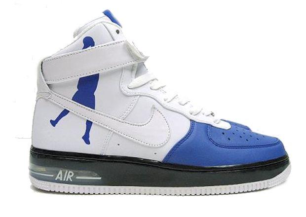Nike Air Force One High Supreme White Sheed Varsity