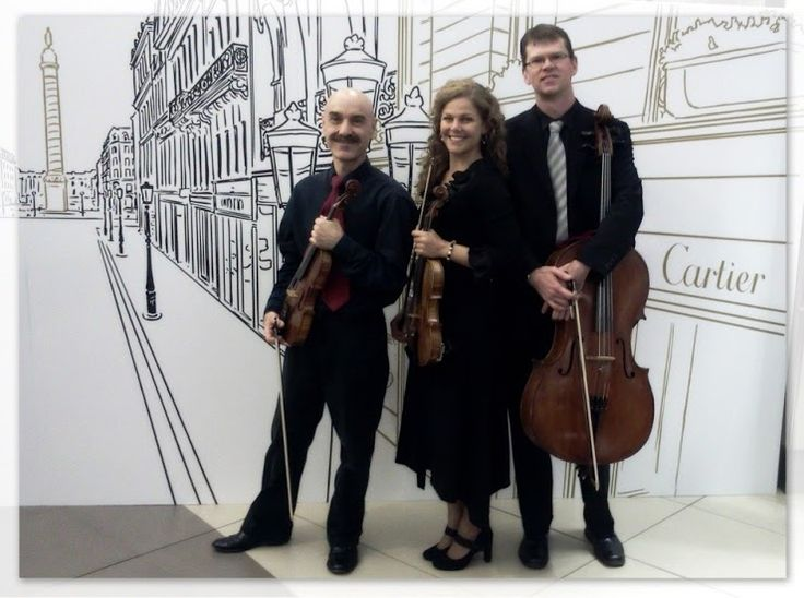 The Skylark String Trio/Quartet. Johannesburg, South Africa. The Skylark String Trio and Quartet have been performing together for a number of years. The ensemble started after the members had met at various orchestral performances. The group consists of a traditional string quartet and trio options (2x violins, viola, cello) or a string trio (2x violins, cello) combination.