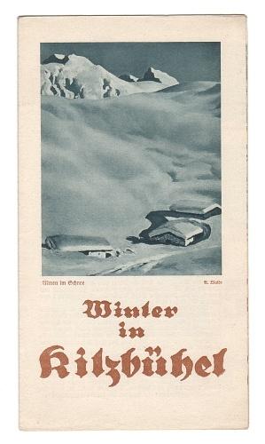 Winter in Kitzbühel. - 1929