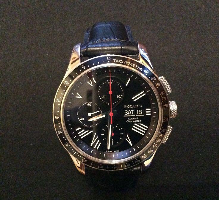 Montre rodania suisse automatique chrono