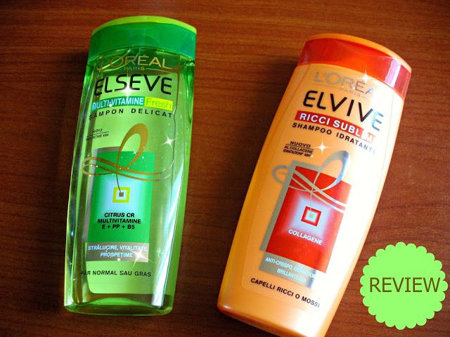 Two Shampoos from L'Oreal [review]