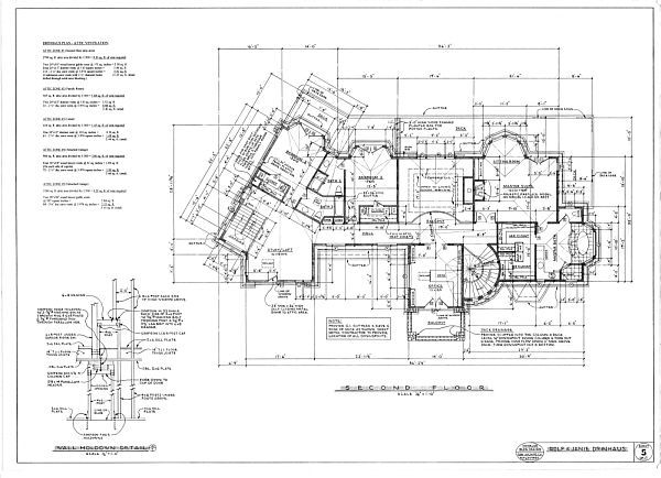 Detailed house plans - House decor