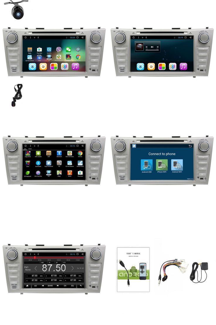 """[Visit to Buy] 1024*600 2 Din Quad Core 8"""" Android 6.0 Car DVD GPS Navigation For Toyota Camry 2007 2008 2009 2010 Head Unit Car Stereo radio #Advertisement"""