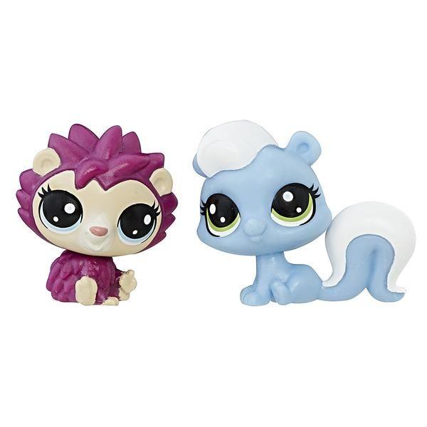 Littlest Pet Shop Mini Skunk Hedgehog Set Little Pet Shop Toys Little Pets Pet Shop