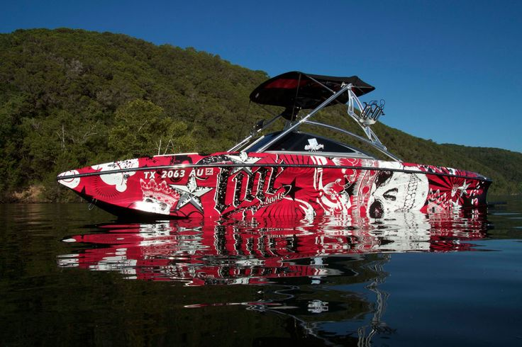 Checkout This Wrap By Wakegraphics Boatwrap Boat
