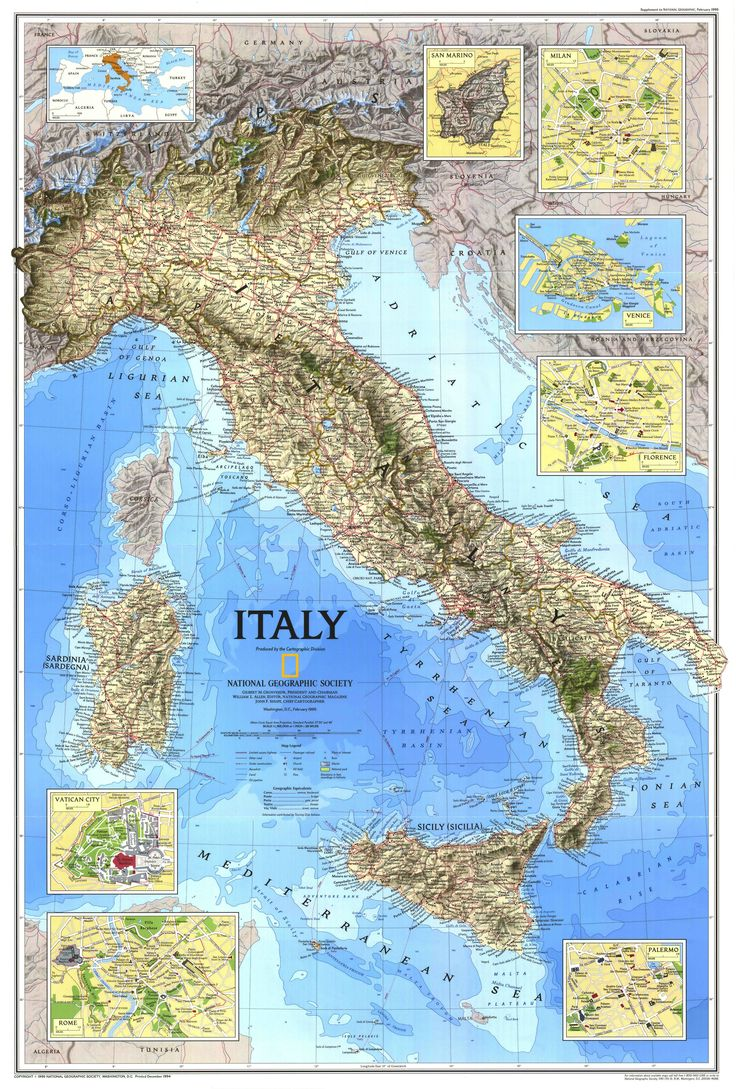 Warning: A Comparison of Canada & Italy