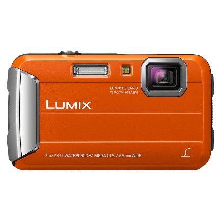 Panasonic Lumix TS25 16MP Waterproof Digital Camera with 4x Optical Zoom - Orange : Target