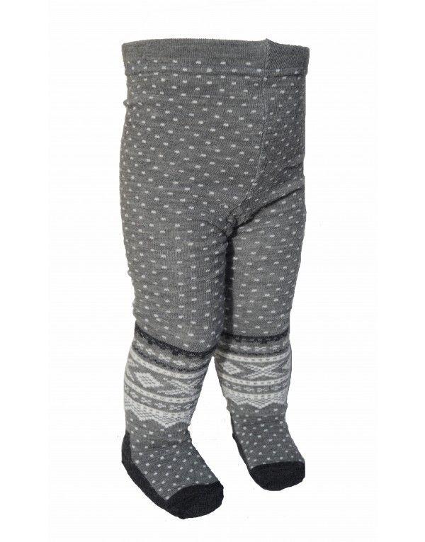 Marius strømpebukse i grå