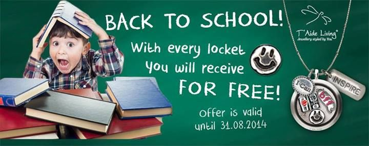 SMILE! School has started and we are giving free charms again!
