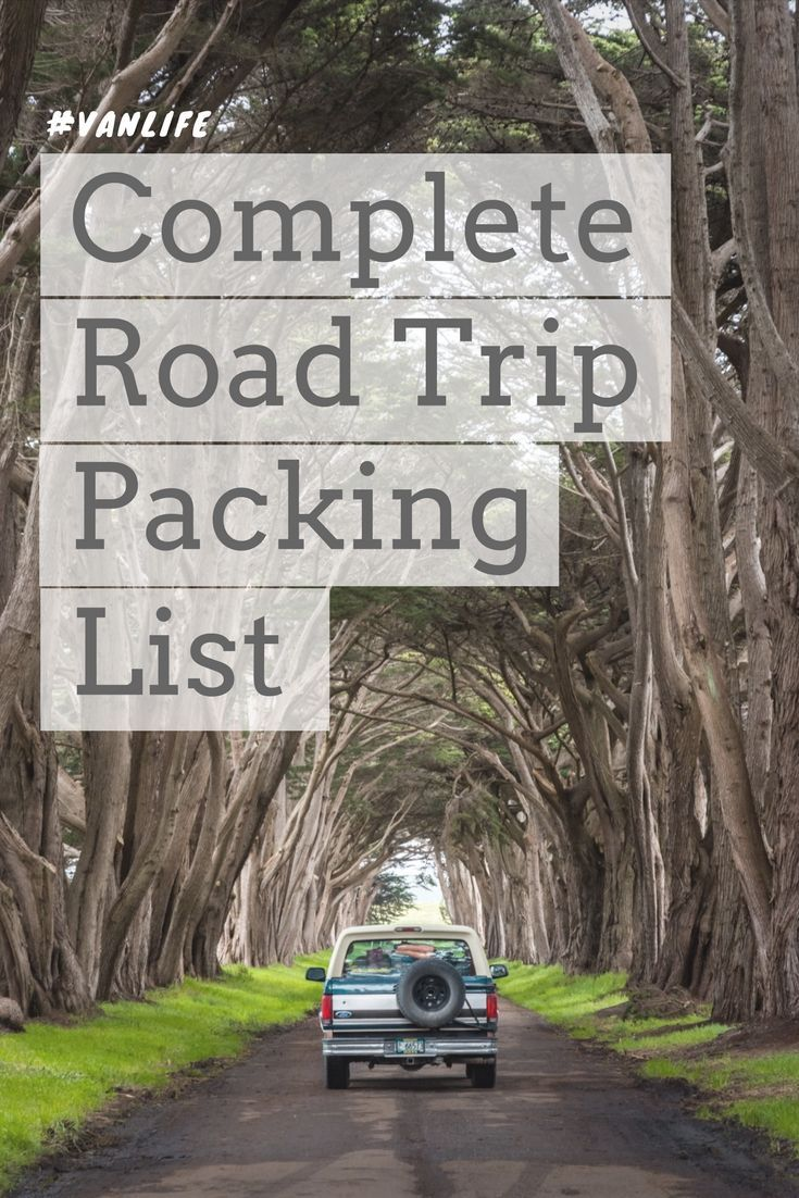 Complete Road Trip Packing List. Heading out on an epic road trip in your car, campervan, or motorhome? Make sure you don't forget any essential items! By Wandering Wheatleys (@wanderingwheatleys) #RoadTrip #vanlife #campervan #camping #wanderingwheatleys