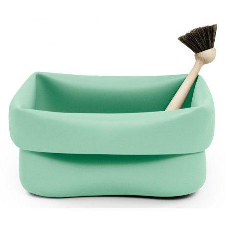 Normann Copenhagen Rubber Washing Up Bowl & Brush