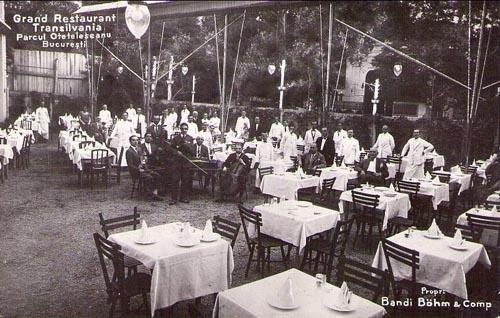 Bucuresti - Grand Restaurant Transilvania - Otetelesanu - interbelica
