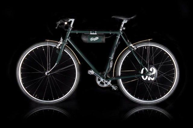 VELOCICLETTA: bicicletta restaurata e motorizzata