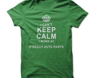OReilly Auto Parts tee. spenditonthis.com