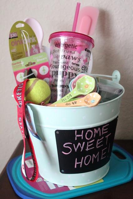 Housewarming gift basket gift basket ideas pinterest