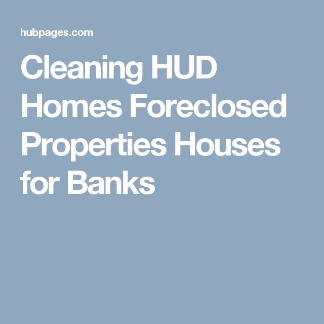 Cleaning HUD Homes Foreclosed Properties Houses for Banks