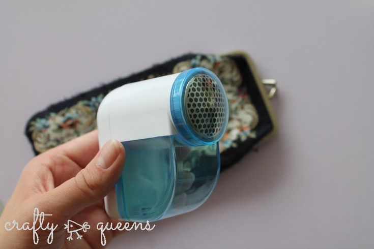 the lint remover - a crafty musthave!