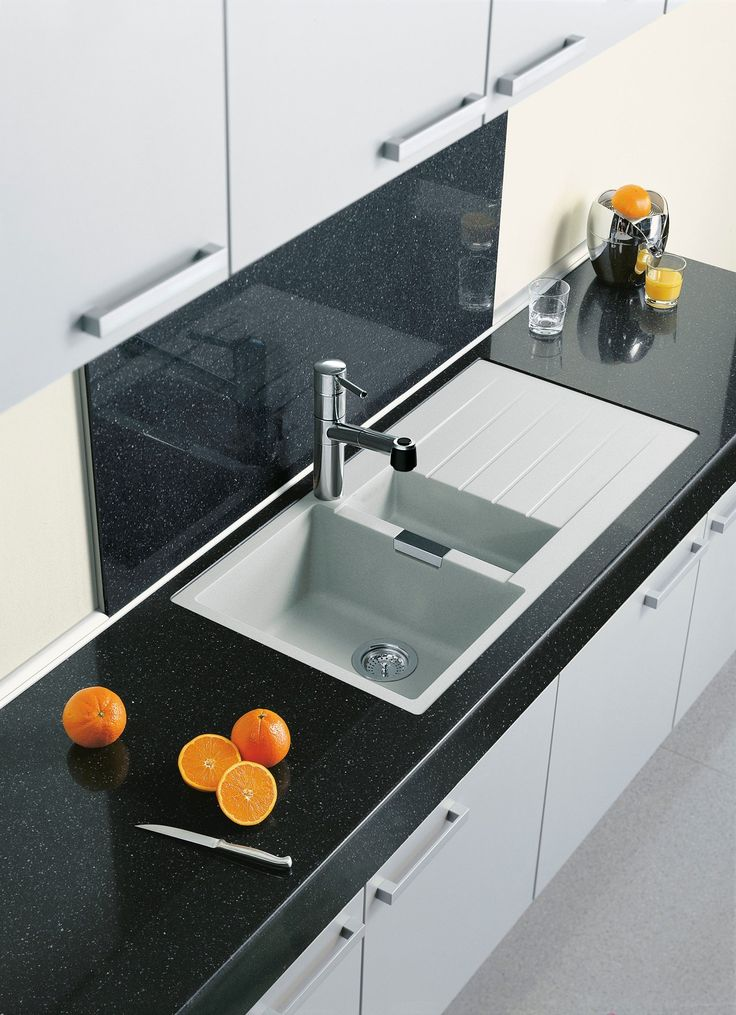 Egmont 1000-15, Alpina 9310 WH with a Eurostone Twinkle Black benchtop