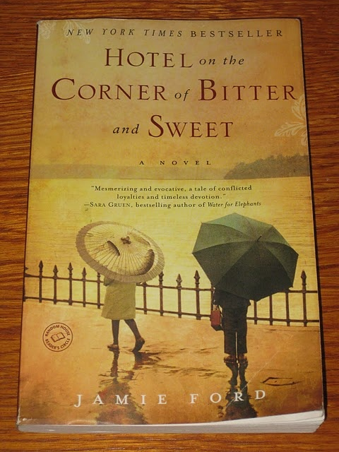 Hotel on the Corner of Bitter and Sweet...Reading this right now and can't put it down...