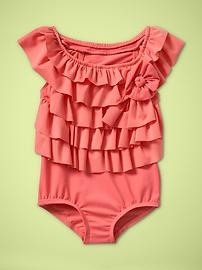 toddler girls swim suit.