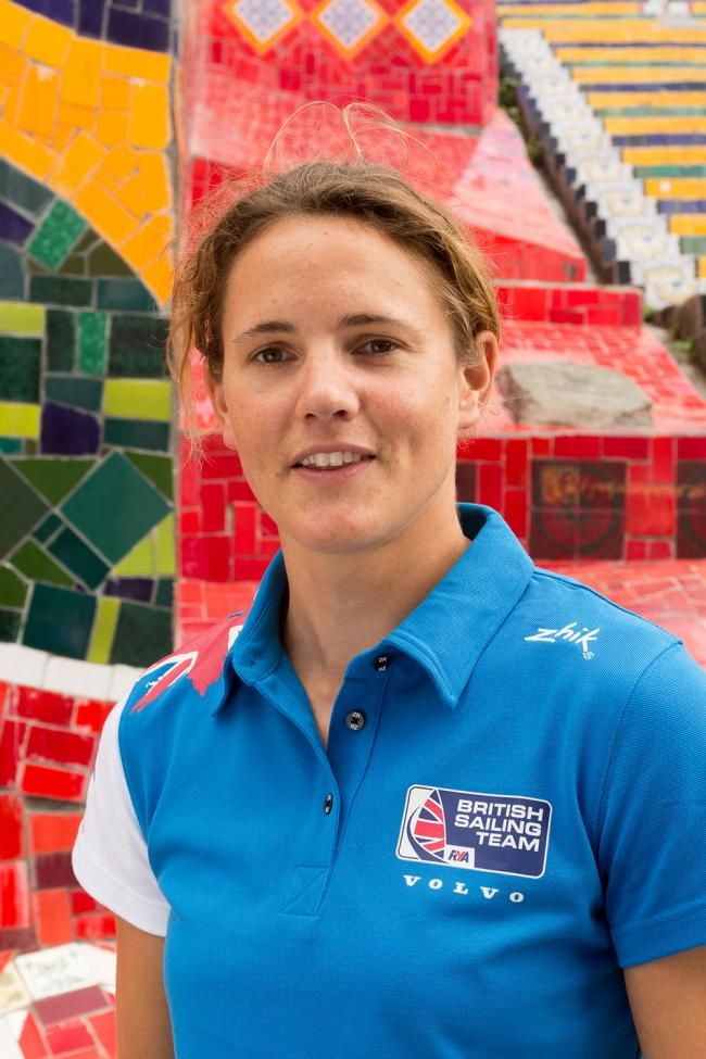 Alison Young - Sailing. Laser radial.
