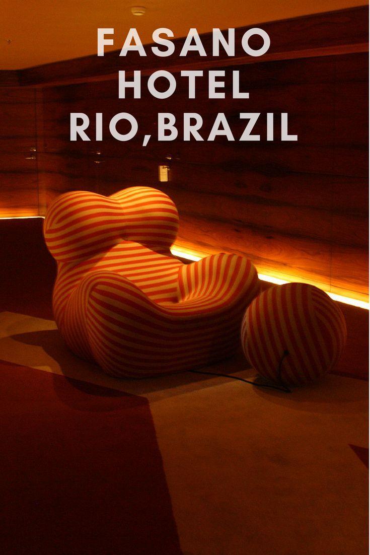 Luxury Latin America reviews the Hotel Fasano in Rio de Janeiro, facing the beach and sea in Brazil.