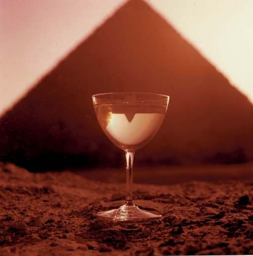 "Bert Stern - Smirnoff ""Driest of the Dry"" Great Pyramid of Giza, 1955 on MutualArt.com"