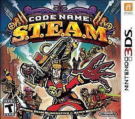 Nintendo 3DS Code Name: S.T.E.A.M. Steam Video Game (New Sealed)  | eBay