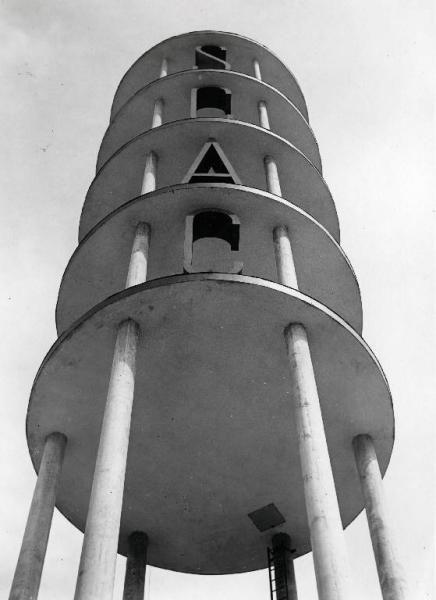 Fiera di Milano - Campionaria 1931 - Torre della SCAC - Architect: Adalberto Libera