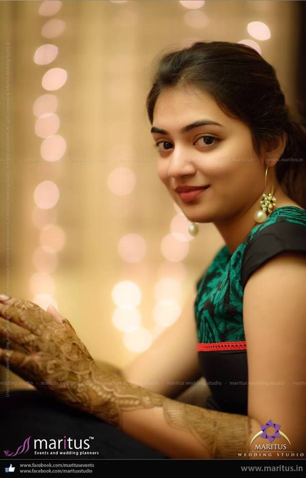 Nazriya Nazim Wedding Stills