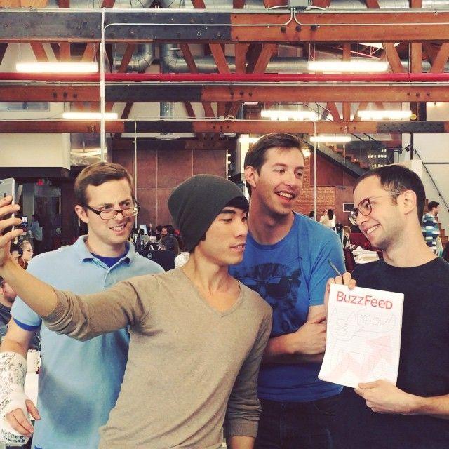 Ned Fulmer // Eugene Lee Yang // Keith Habersberger // Zach Kornfeld // Buzzfeed // The Try Guys