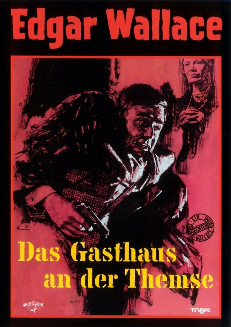 "The Inn on the River (1962) ""Das Gasthaus an der Themse"" (original title) Stars: Joachim Fuchsberger, Brigitte Grothum, Elisabeth Flickenschildt, Klaus Kinski ~  Director: Alfred Vohrer (Based on Edgar Wallace Novels)"