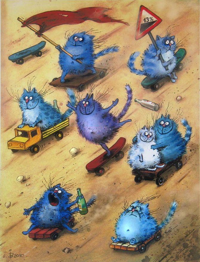 коты ирины зенюк (2)