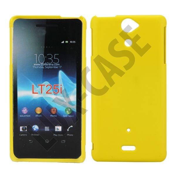 Hard Shell (Gul) Sony Xperia V Cover