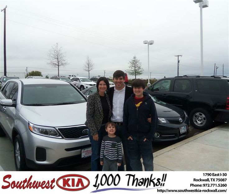 #HappyAnniversary to Gregory Griffin on your 2014 #Kia #Sorento from Don Reed at Southwest KIA Rockwall!