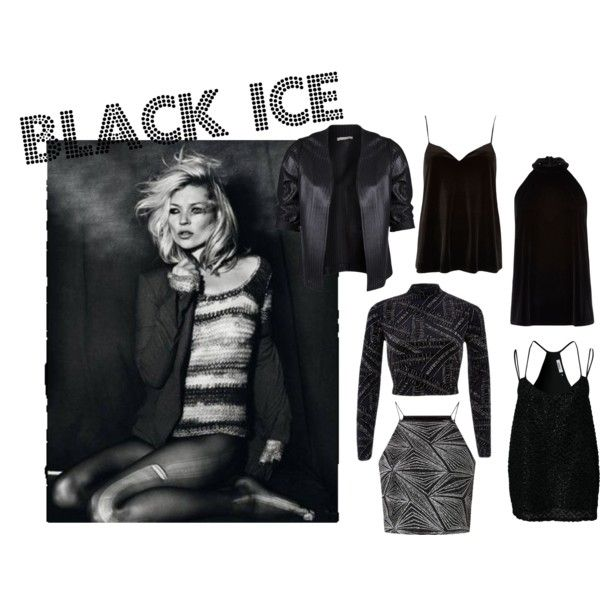 """Black Ice"" by niamhdevereux on Polyvore"
