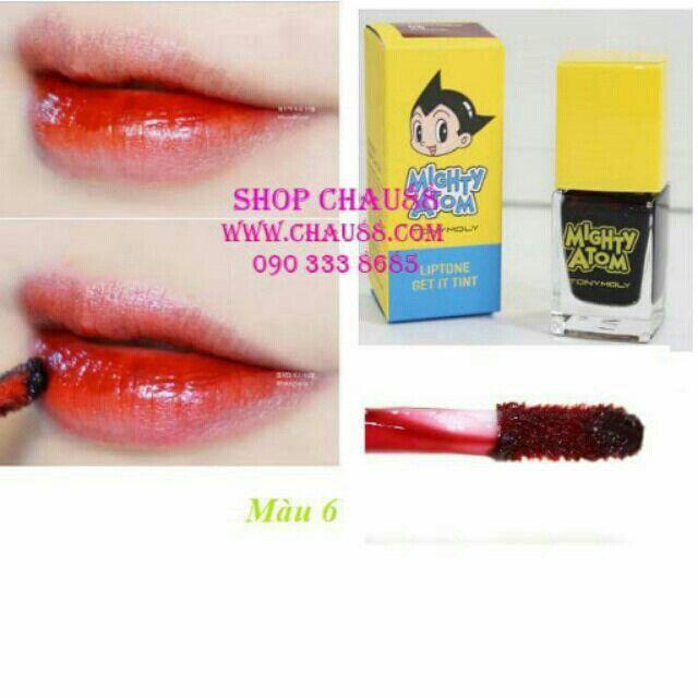 Son môi Atom Liptone Get It Tint #6 với giá ₫135.000 chỉ có trên Shopee! Mua ngay: http://shopee.vn/shopchau88/4369437 #ShopeeVN