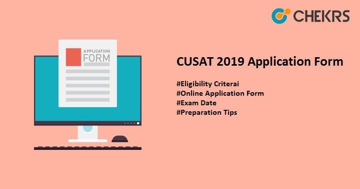 Cusat 2020 Online Application Entrance Exam College Admission Online Application Form