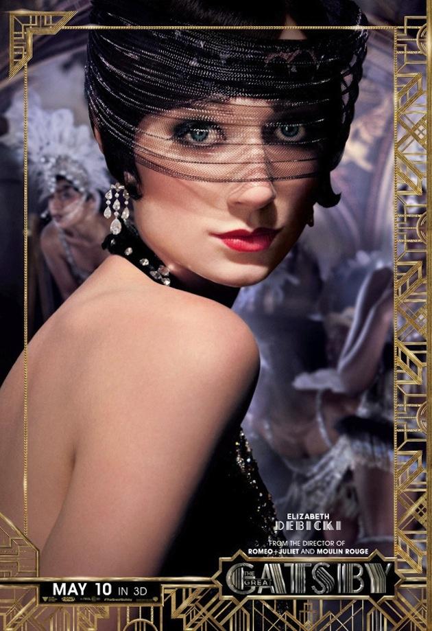 The Great Gatsby (2013)   Character Poster: Elizabeth Debicki (Jordan Baker)