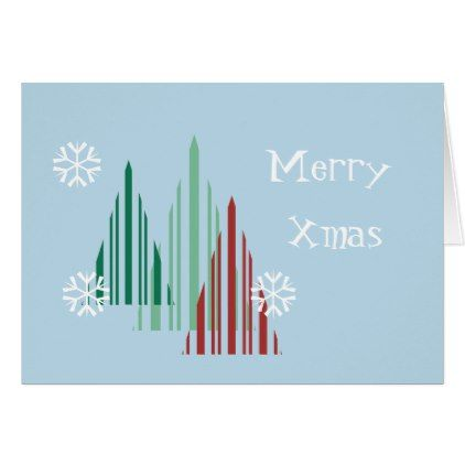 Merry Xmas Christmas Personalize Greeting Card - merry christmas diy xmas present gift idea family holidays