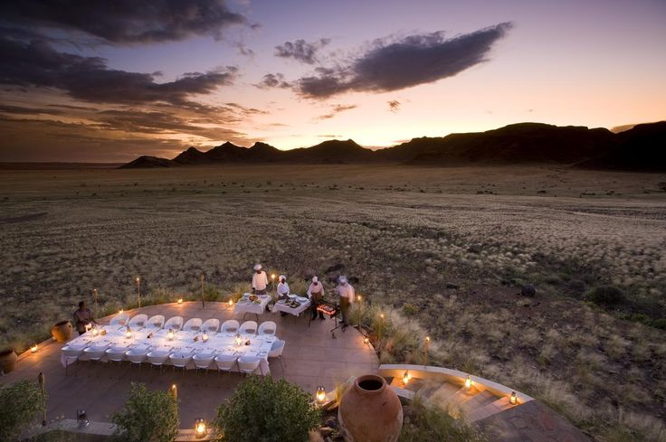 Enjoy the ultimate luxury experience in Namibia with Ker & Downey Africa. Property of the Month: Sossusvlei Desert Lodge #luxurytravel #namibia