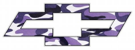 purple+camo | Chevy Bowtie Logo Decal Sticker - PURPLE CAMO, dodge decals ...