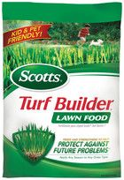 Feeds and strengthens to help protect against future problems. Apply any season to any grass type. Kid and pet friendly when used as directed. Recommended for many lawns as part of the Scotts Lawn Care Plan.