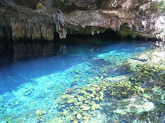 Grand Cenote. I can't believe that in just a few weeks, I'll be snorkeling in this!