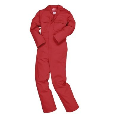Keep yourself safe with the Portwest BizWeld Flame Retardant Coverall, ideal for welders and mechanics!