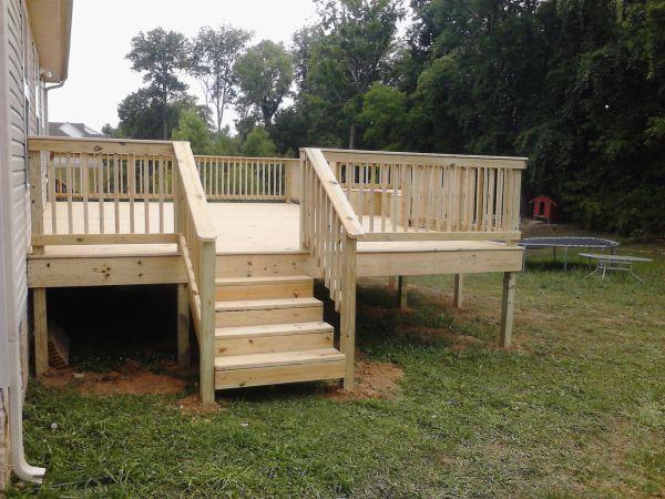 Deck And Porch Rails Http://www.jandjconstruction.com/